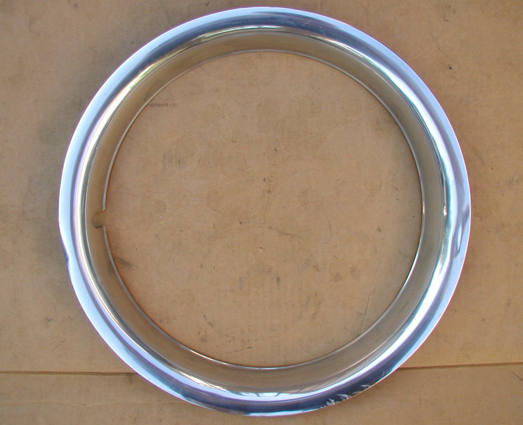 Chevrolet GMC Stainless Steel 15 Inch Wheel Trims Beauty Rings
